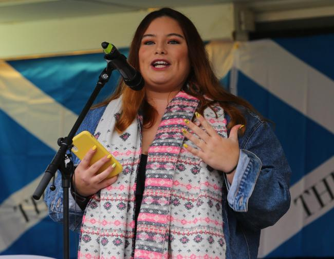 Valentina Servera Clavell spoke at last year's SNP conference