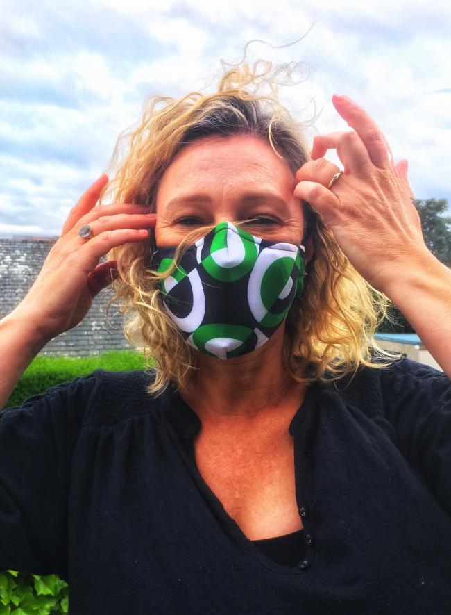 Gillian Martin has been wearing face coverings since recovering from Covid symptoms in March