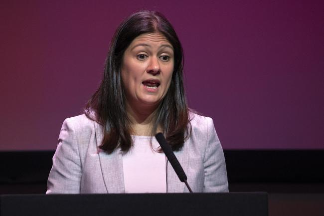 Lisa Nandy criticised the way the Tory Government revealed details of new Covid restrictions