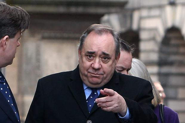 A poll found almost 50% of SNP supporters would back a pro-independence party led by Alex Salmond