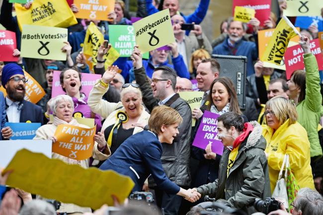 The Scottish electorate will vote according to what they want to see happen
