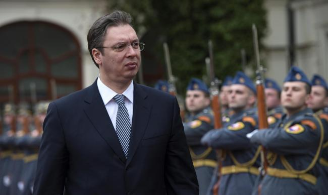 Serbia's President Aleksandar Vucic, who left behind the far-right ultranationalists in 2008 to found a populist conservative party