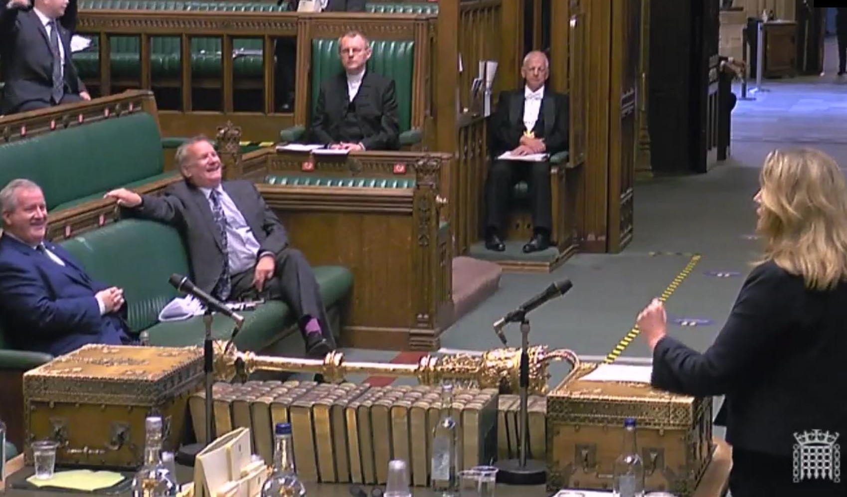 WATCH: Tory minister has SNP MPs in stitches with outrageous Brexit claim