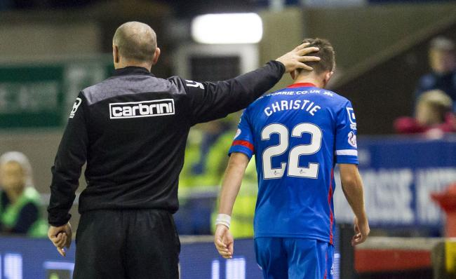John Hughes says he could tell within seconds that Ryan Christie was going to be a star.