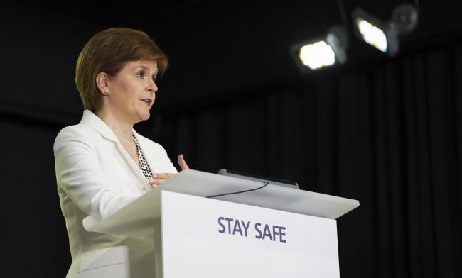 Nicola Sturgeon revealed that half of all recent cases are in people in their 20s and 30s