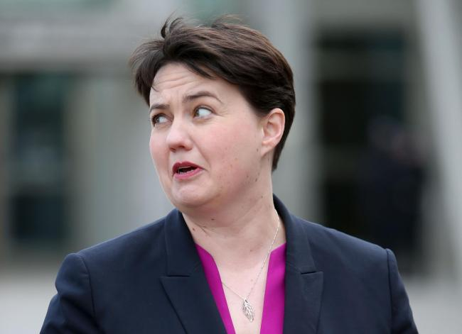 Lubov Chernukhin paid £20,000 for a lunch with Ruth Davidson