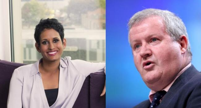 Ian Blackford was taken aback by Naga Munchetty's comment