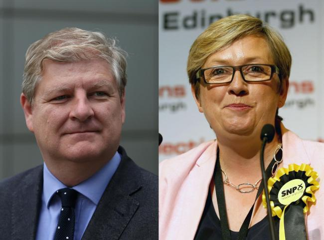 Angus Robertson and Joanna Cherry both want to be the SNP candidate in the Holyrood seat beingvacated by Ruth Davidson
