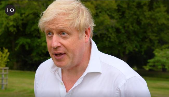 Boris Johnson says he's embarked on a new exercise regime after falling ill with coronavirus