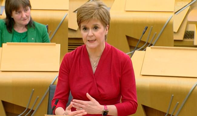 Nicola Sturgeon announced indicative dates for further lockdown easing