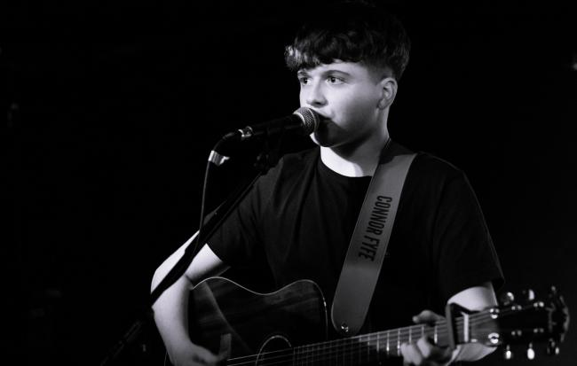 'BUZZING': Connor Fyfe earns place in Scottish music history books. Picture by MJ Windebank2020