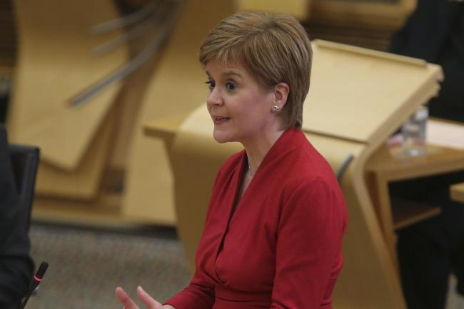 Nicola Sturgeon stressed reopening schools is a priority for the Scottish Government