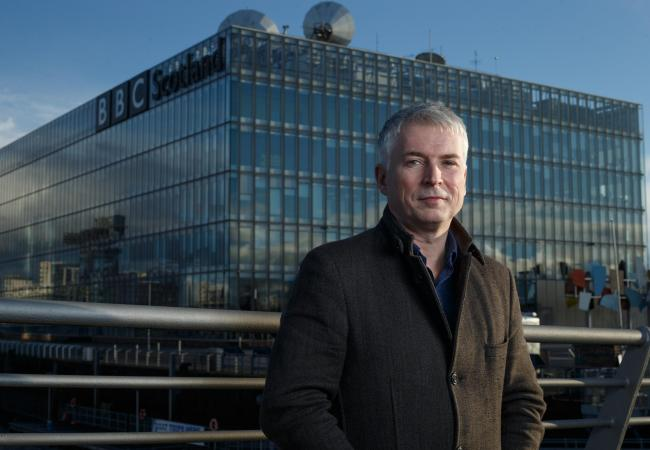 Steve Carson has been named the new director of BBC Scotland