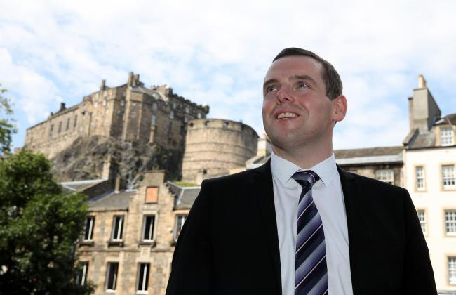 Douglas Ross announced he was running for Scots Tory leader almost as soon as Jackson Carlaw stepped down