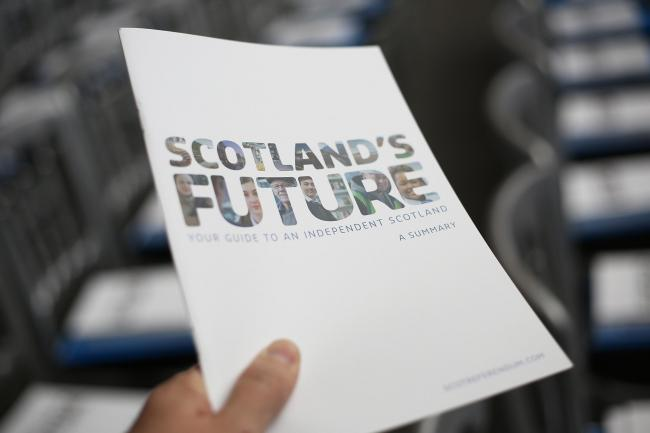 The white paper guide to Scottish Independence was launched by First Minister Alex Salmond in 2013