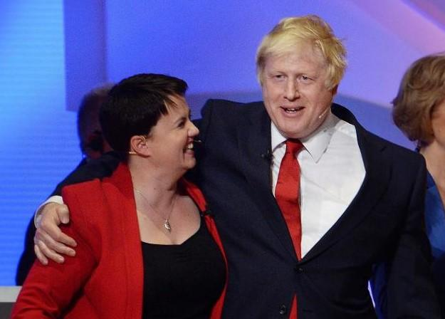 Boris Johnson and Ruth Davidson called the shots, Scots Tory MSPs didn't even get a look in