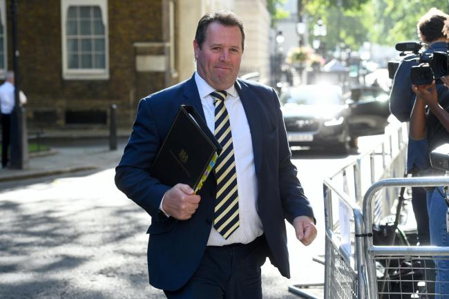 The woman felt did not have the opportunity to detail her allegations in full to Chief Whip Mark Spencer