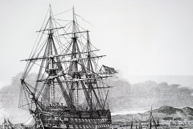 The Scottish Clearances led to thousands of Scots being sent to Australia on ships such as the HMS Hercules
