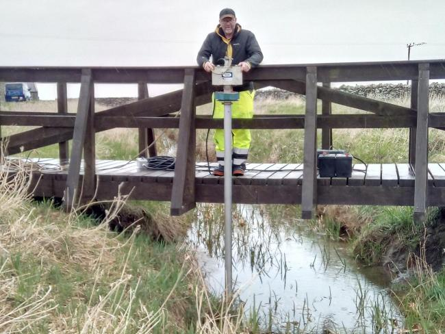 Geophysical mapping and sediment samples revealed ancient canals in the area
