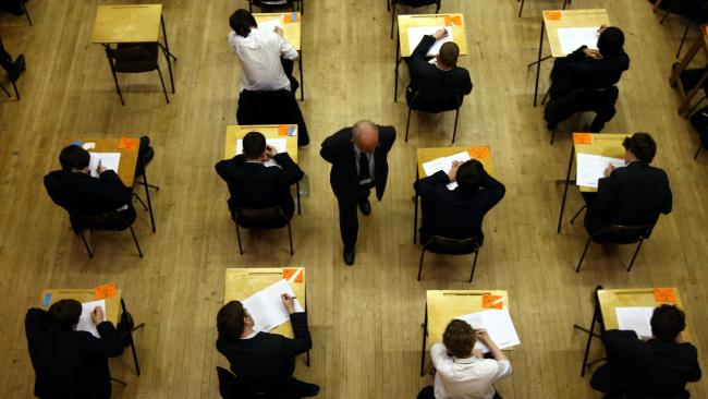 Pupils have complained they were subject to a 'postcode lottery' when it came to exam results