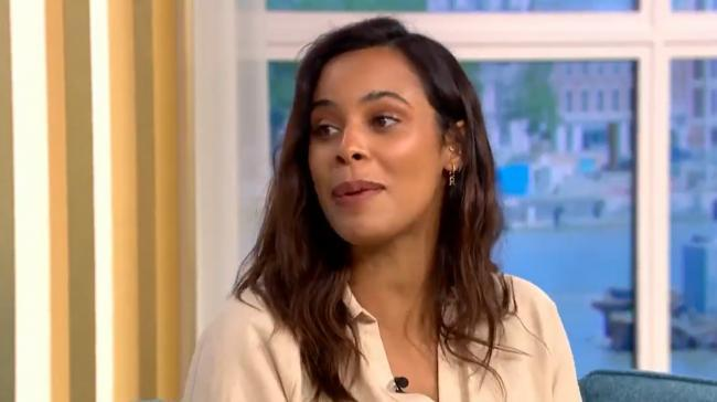 Rochelle Humes's comment about Scotland has bemused many people