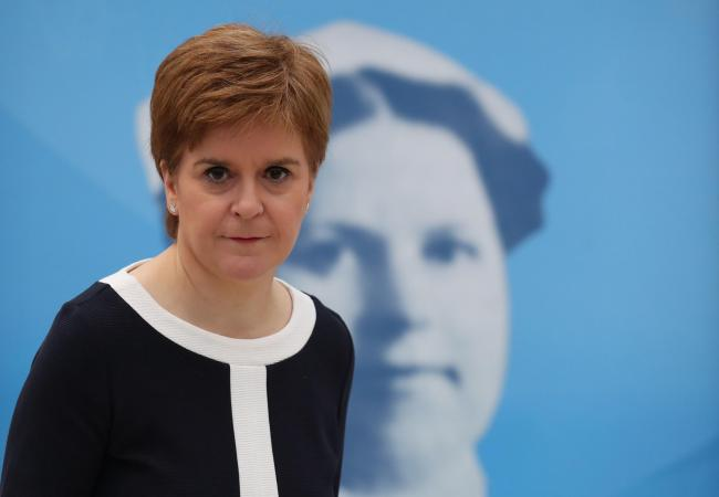 Nicola Sturgeon said anyone questioning her commitment to independence is 'bonkers'