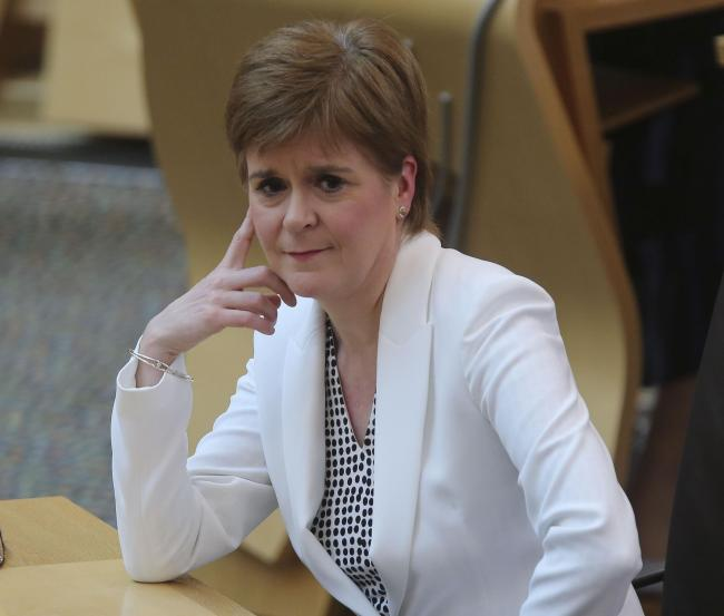 Nicola Sturgeon told supporters not to 'dignify' the 'rubbish' about indyref2 from the Scottish Secretary