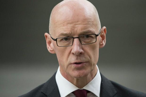 The National: Scottish Education Secretary and Deputy First Minister John Swinney