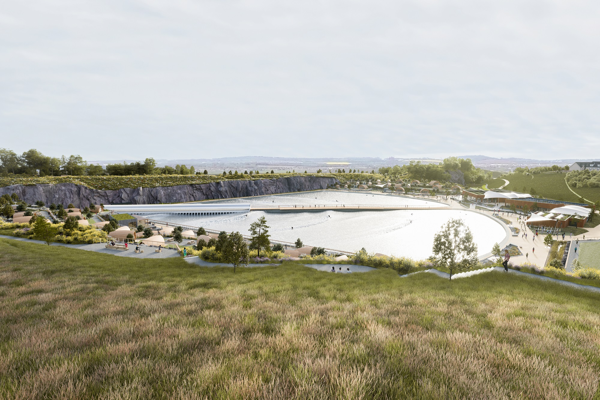 Scotland's first artificial surf resort takes step closer to reality — and looks unreal