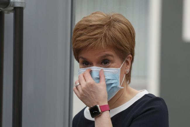 Nicola Sturgeon confirmed new coronavirus clusters in Glasgow and Orkney