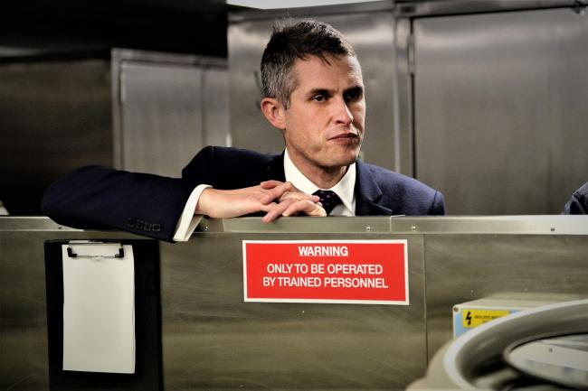 England's Education Secretary Gavin Williamson is being urged to follow John Swinney's lead