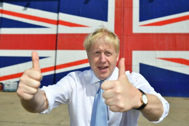 Boris Johnson believes that more Union Jack flags is the way to combat the rising support for Scottish independence