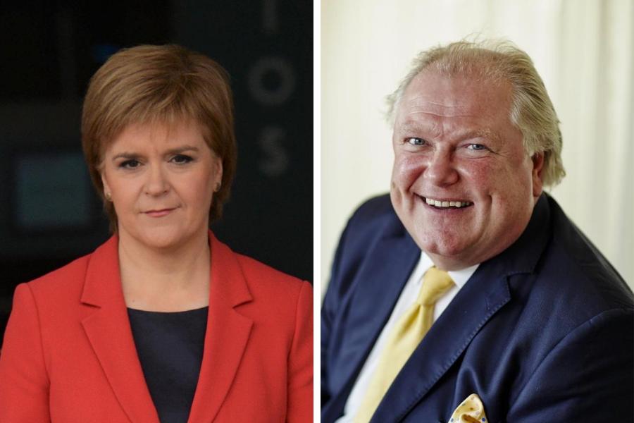 Lord humiliates himself in furious Twitter rant at Nicola Sturgeon