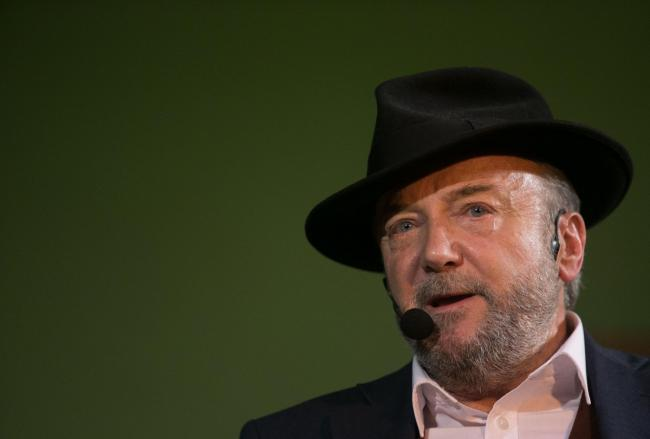 George Galloway has been raising funds for a by-election that does not currently exist