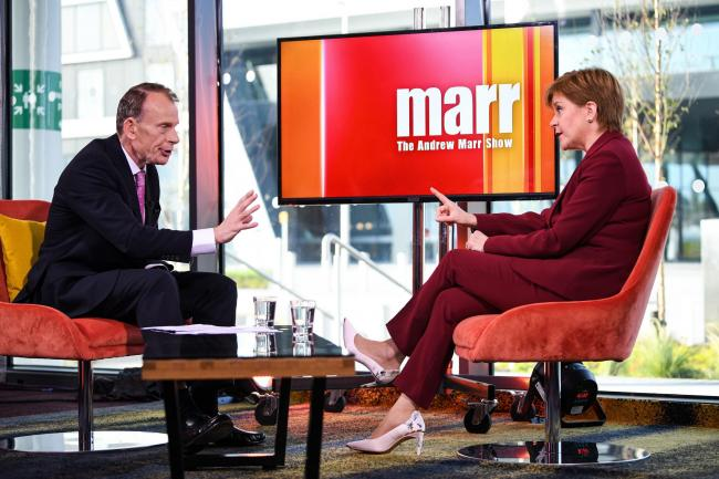 Andrew Marr is finally seeing the independence argument from Nicola Sturgeon's point of view