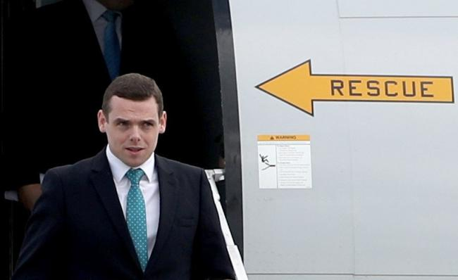 Douglas Ross' 'power up Scotland' launch didn't go to plan