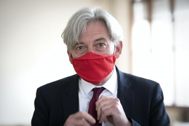 The National: Richard Leonard's party is set to reject the Brexit agreement