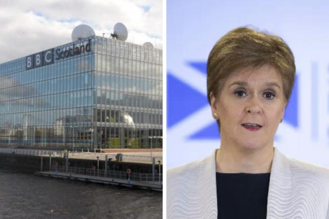 BBC Scotland announced it would show briefings based on their 'editorial merit' before U-turning
