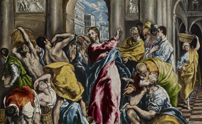 El Greco's The Purification of the Temple
