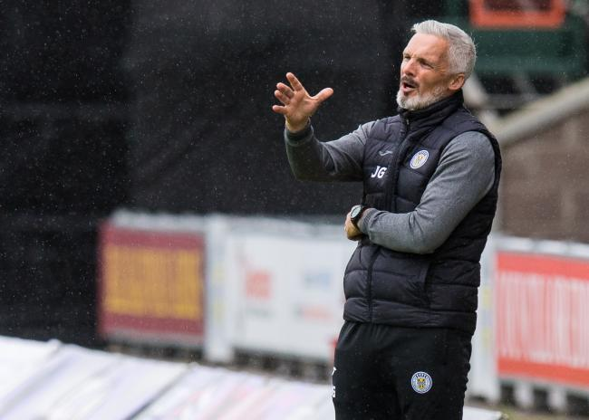St Mirren manager Jim Goodwin on Saturday. Photo by Ross Parker/SNS Group.