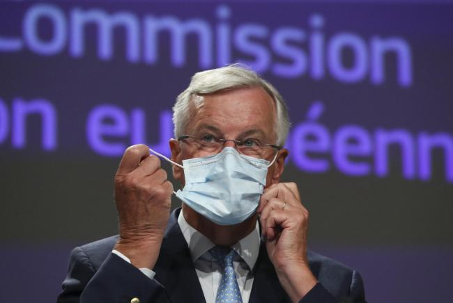 Michel Barnier also said that London's strategy in the talks is not transparent