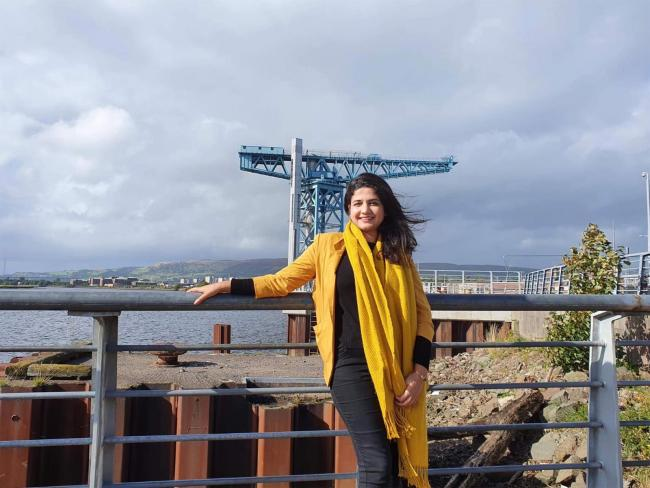 Roza Salih hopes to be the SNP candidate for Clydebank and Milngavie