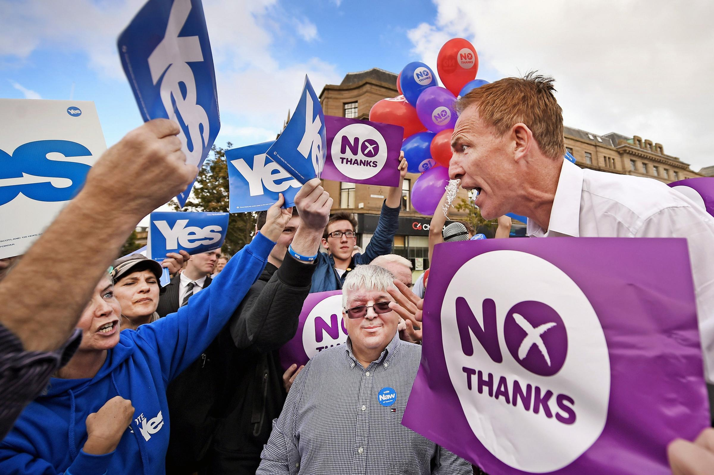 Mike Small: How the argument between Yes and No has fundamentally changed