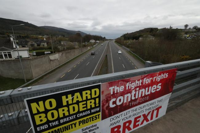 Northern Ireland must, at some point, be involved in a hard border