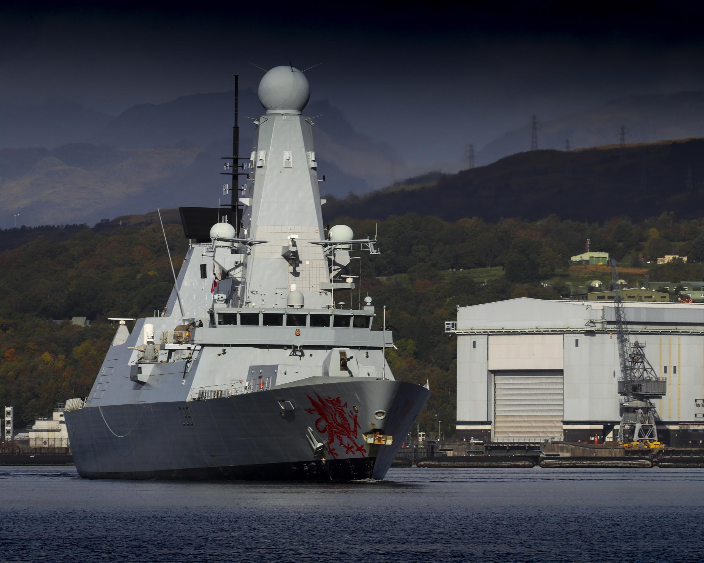 Exercise Joint Warrior: Nato warships spotted on River Clyde - national scot