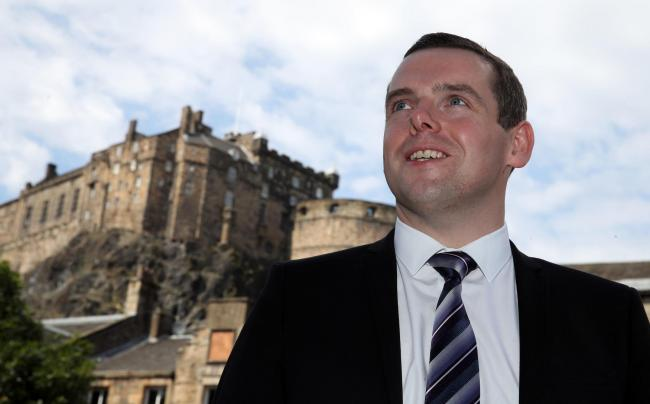 Douglas Ross had his first chance to lecture his party colleagues as leader of the Scottish Tories