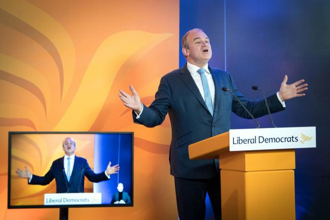 Ed Davey said: 'Elections often determine the future of our country but these Scottish elections could well determine if our country has a future'