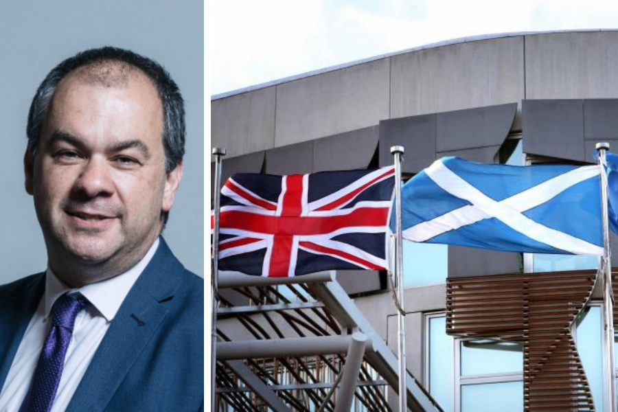 Tory minister concedes Brexit bill is power grab on Scotland in car-crash interview