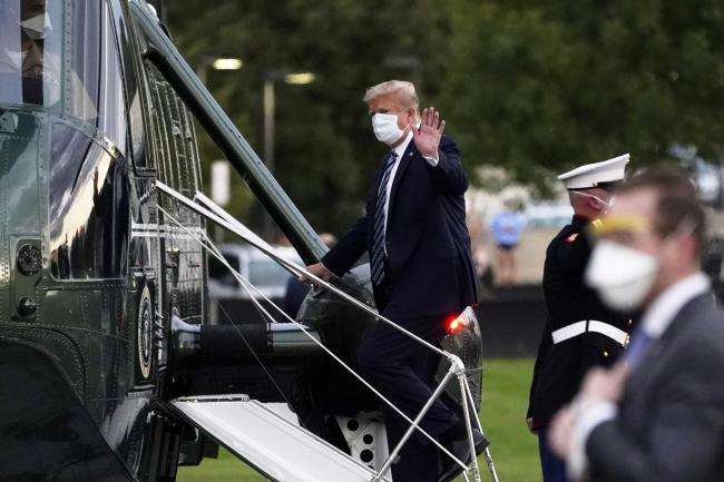 God apparently blessed Donald Trump not just with the coronavirus, but with the wisdom to demand experimental treatments