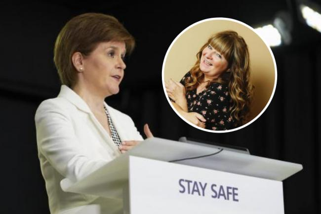 Janey Godley's voice overs of Nicola Sturgeon's briefings have been a big social media hit this year